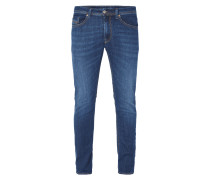 Stone Washed Slim-Skinny Fit Jeans