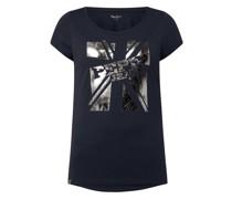 T-Shirt mit Logo Modell 'Alessa'