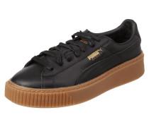 Sneaker 'Basket Platform' aus Leder