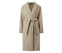 Mantel mit Taillengürtel Modell 'Fortune'