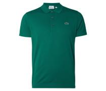 Slim Fit Poloshirt mit Logo-Aufnäher