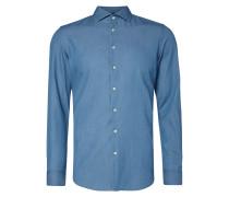 Slim Fit Hemd aus leichtem Denim