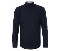 Regular Fit Business-Hemd aus reiner Baumwolle