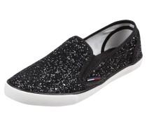 Slip On Sneaker mit Glitter-Effekt