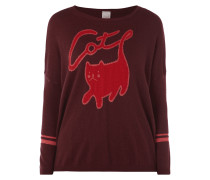 Pullover mit Katzen-Motiv