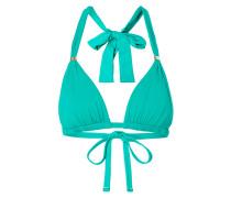 Bikini-Oberteil mit Metall-Applikationen