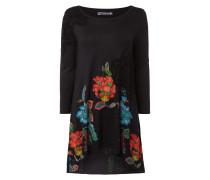 Longshirt mit floralen Prints