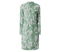 Leinenkleid mit Paisley-Muster