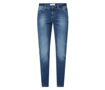 Straight Fit Jeans mit Stretch-Anteil Modell 'Paris Love'