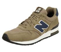 Sneaker '565' mit Lederbesatz