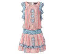 Kleid mit Volantsärmeln