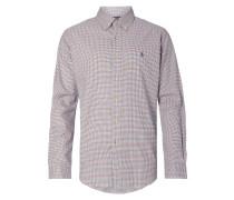 Slim Fit Hemd mit Karo-Dessin