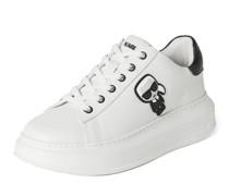 Sneaker aus Leder Modell 'Kapri'