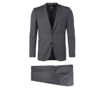 Slim Fit Anzug aus reiner Schurwolle