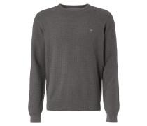 Pullover mit strukturiertem Gittermuster