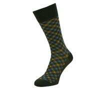 Socken mit Karomuster Modell 'Smart Check'