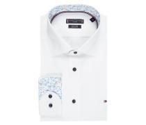 Regular Fit Business-Hemd aus Popeline - 'Better Cotton Initiative'