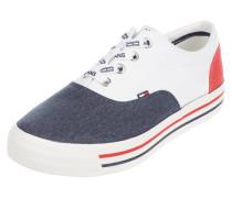 Sneaker aus Canvas in den Logo-Farben
