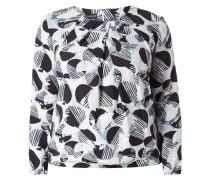 PLUS SIZE - Blusenshirt mit Punktemuster