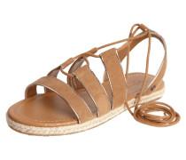 Sandalen mit Schnürverschluss