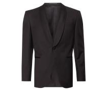 Regular Fit Smoking-Jacke aus Schurwolle