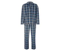 Pyjama aus Baumwolle mit Karo-Dessin