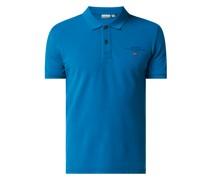 Poloshirt aus Piqué Modell 'Elbas'