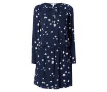 Kleid mit Sternenmuster