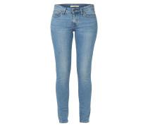 711 SKINNY Skinny Fit Jeans im Used Look
