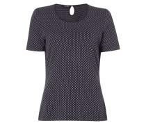 T-Shirt mit Wabenstruktur