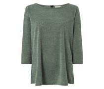 PLUS SIZE Sweatshirt mit 3/4-Arm Modell 'Martha'