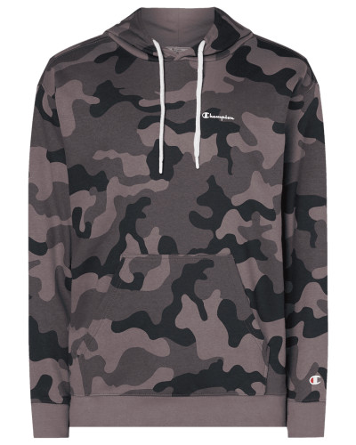 Oversize Fit Hoodie mit Camouflage-Muster