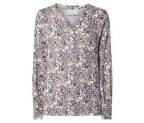 Blusenshirt mit Millefleurs Modell 'Sana'