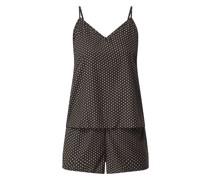 Pyjama mit Leopardenmuster Modell 'Juliet'
