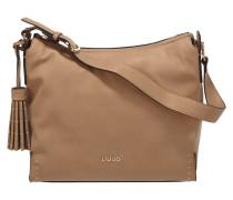 Hobo Bag mit abnehmbarer Zierquaste