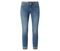 Slim Fit Jeans in 7/8-Länge