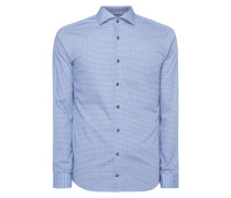 Slim Fit Hemd mit feinem Muster