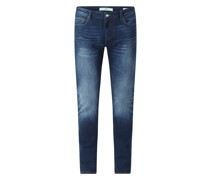 Super Skinny Fit Jeans mit Stretch-Anteil Modell 'Chris'