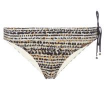 Bikinislip mit Allover-Muster