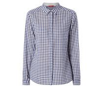 Bluse mit strukturiertem Muster