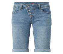 Jeansshorts mit Stretch-Anteil Modell 'Malibu'
