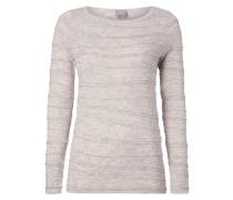 Pullover mit fixierten Zierstreifen