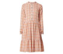 Kleid mit Gitterkaro Modell 'Bolette'