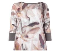 PLUS SIZE - Shirt mit künstlerischem Muster