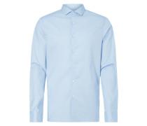 Slim Fit Hemd mit New Kent Kragen