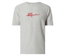 T-Shirt mit Steifenmuster