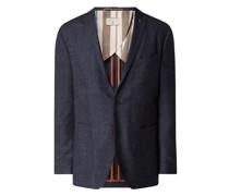 Tailored Fit 2-Knopf-Sakko mit Woll-Anteil Modell 'Austin'