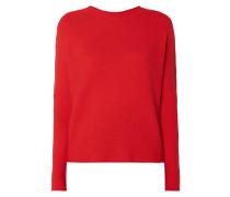 Pullover mit stark angeschnittenen Ärmeln