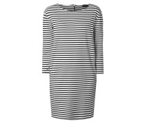 Kleid aus Baumwolle mit Streifenmuster