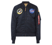 Bomberjacke mit NASA-Patches